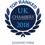 Ranked in Chambers UK 2018 - Leading Firm