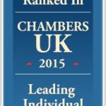 Ranked in Chambers UK 2015 - Leading Individual